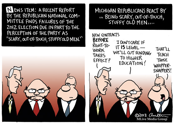 Scary, Out-of-Touch, Stuffy Old Men
