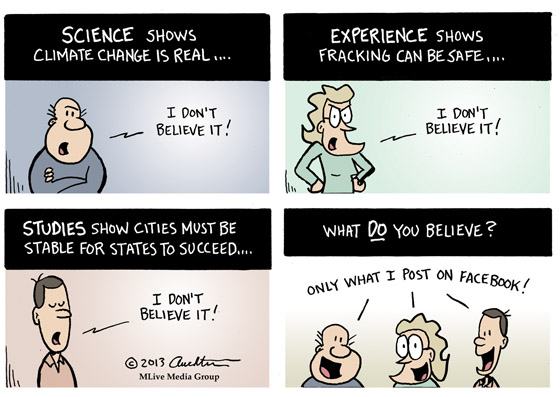 What Do You Believe? Usually What I Want to Believe...