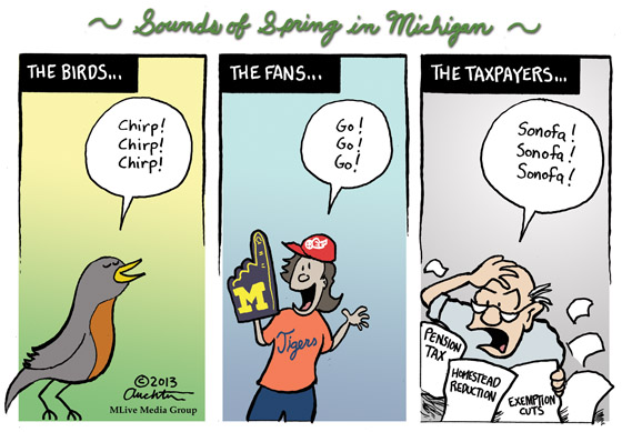 Sounds of Spring in Michigan