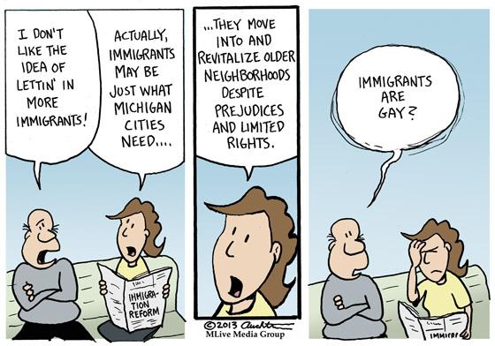Lettin' in Immigrants