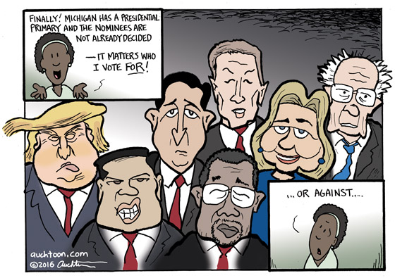 Michigan Presidential Primary