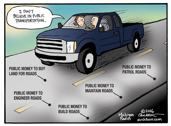 I Don't Believe in Public Transportation