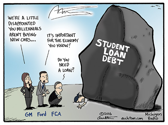 Another Consequence of Student Loan Debt