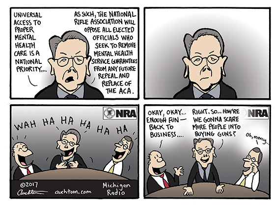The NRA's Principled Stance on Mental Health