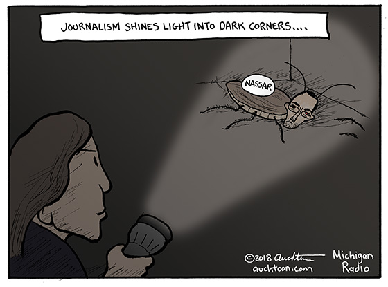 Journalism Shines Light into Dark Corners